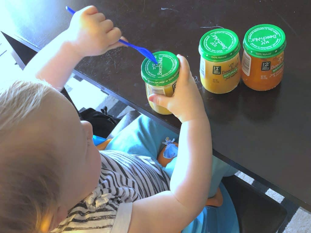 Simple Beech Nut Mommy Party, Baby food, Best baby food,