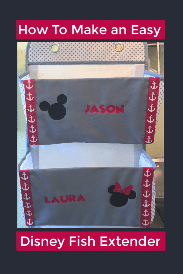 How to make a Disney Cruise fish Extender, Cheap DIY Disney Cruise Fish Extender, Easy Disney Cruise Fish Extender, DIY Disney Cruise Fish Extender