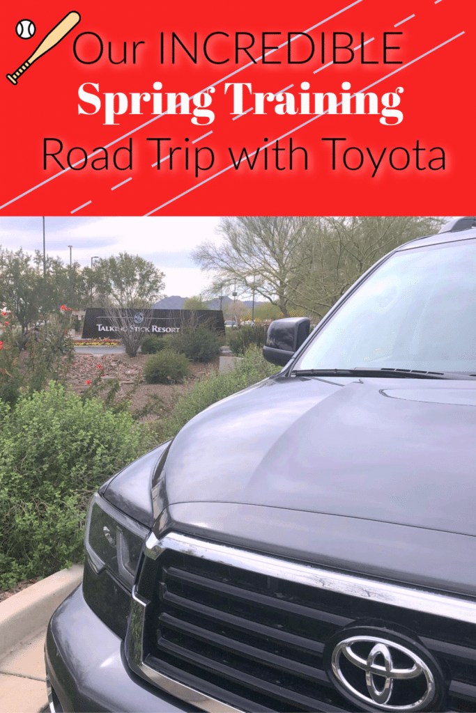 Toyota Sequoia TRD, Spring Training, Toyota SUV Review, Toyota Off road SUV, Spring training in Arizona