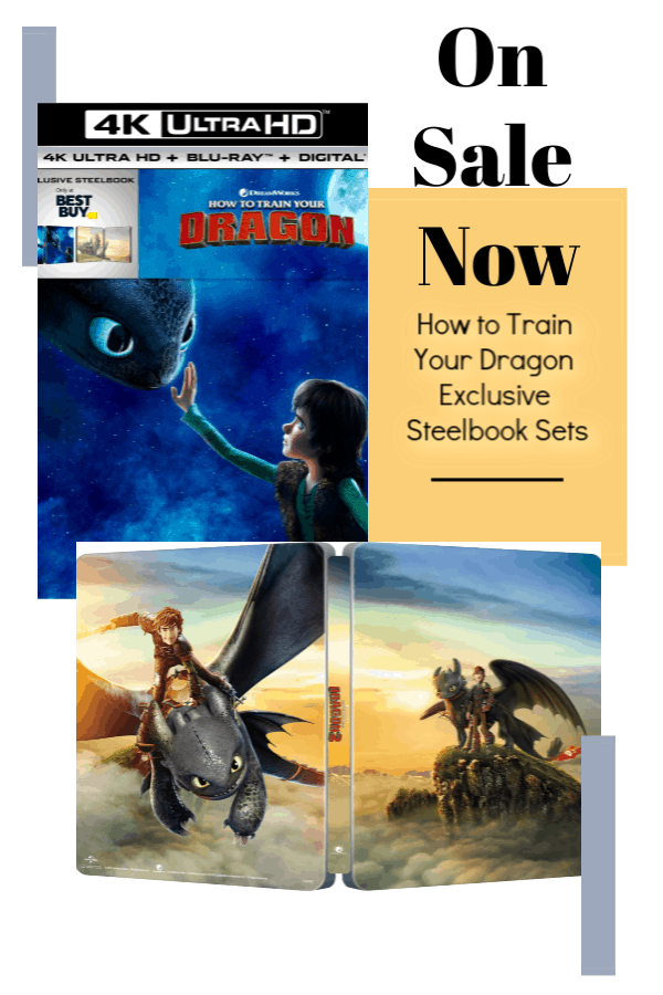 How to Train Your Dragon Steelbook Sets at Best Buy
