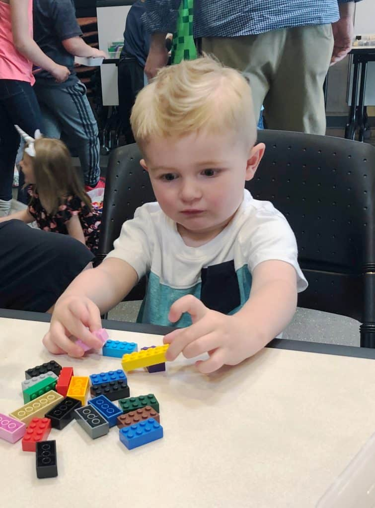 Play-well teknologies party, tips for hosting a play-well party, easy STEM party for kids