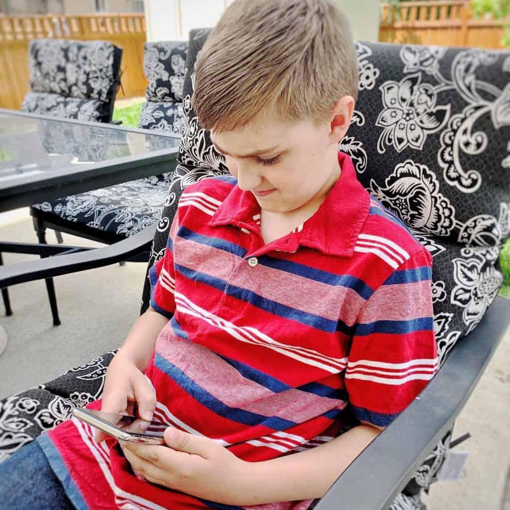 Children and smartphones