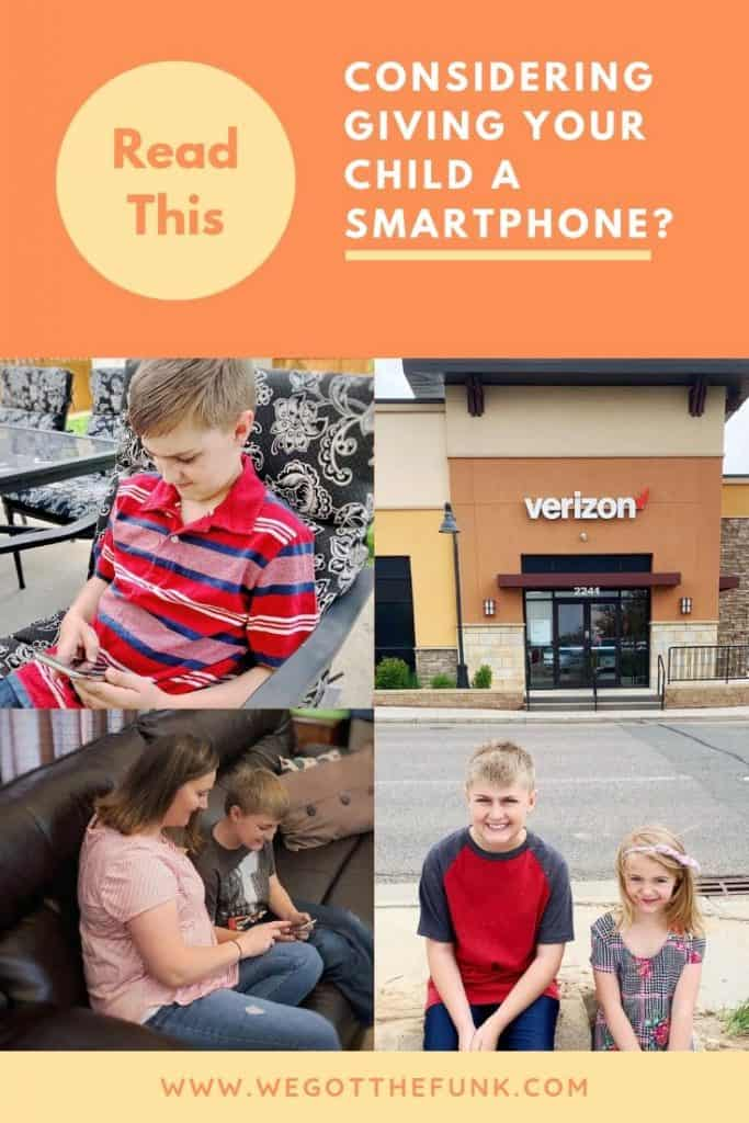 Considering Giving Your Child a Smartphone