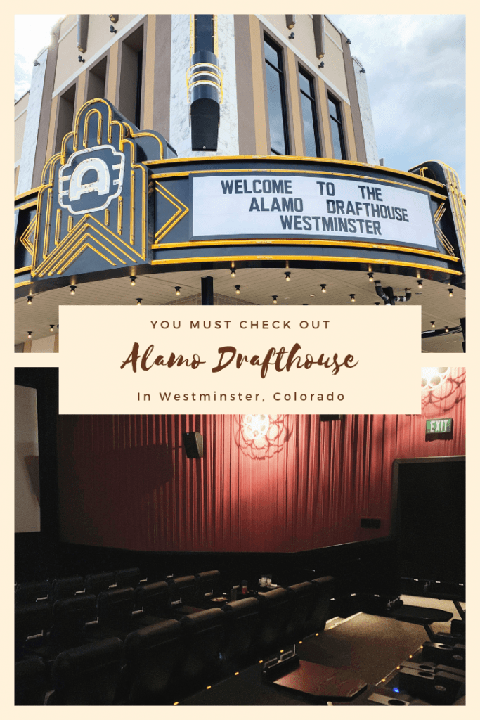 The Alamo Drafthouse in Westminster, Colorado