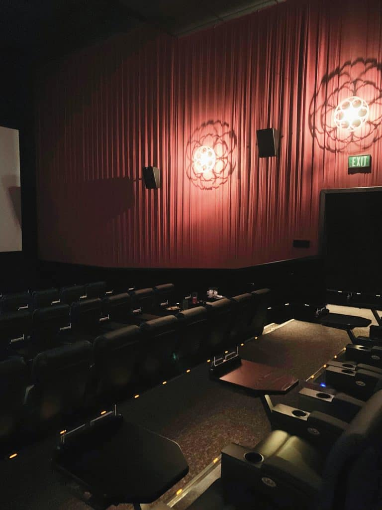 Alamo Drafthouse Theater Seating