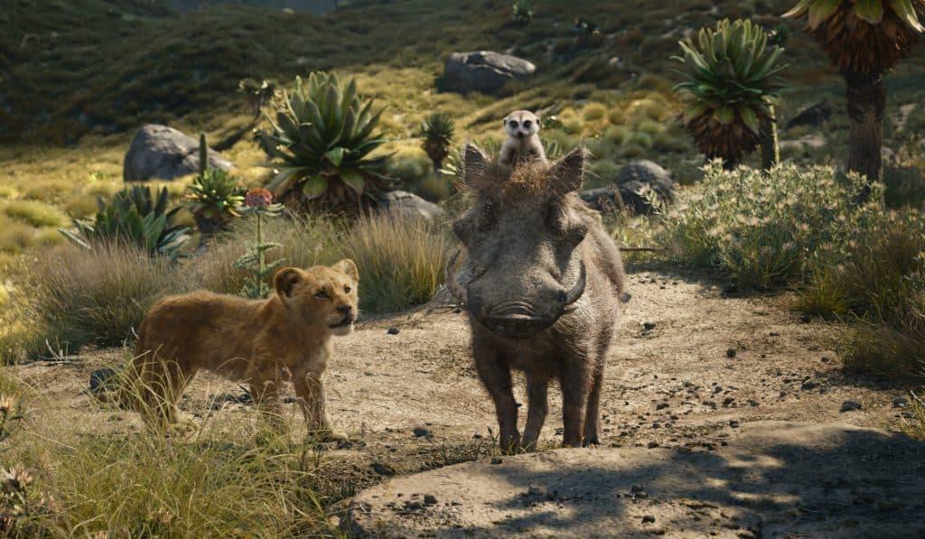 Simba, Timon, Pumbaa