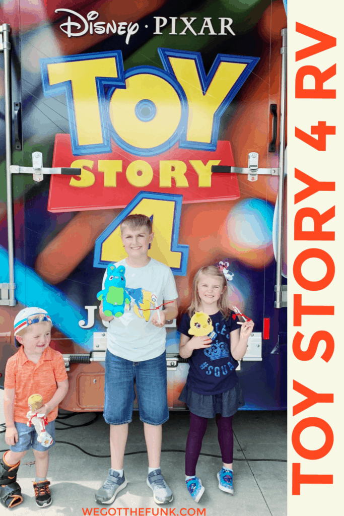 Toy Story 4 RV and Prizes