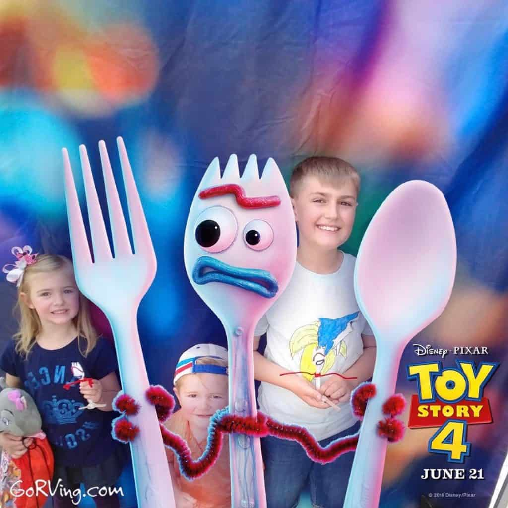 Toy Story RV Photobooth