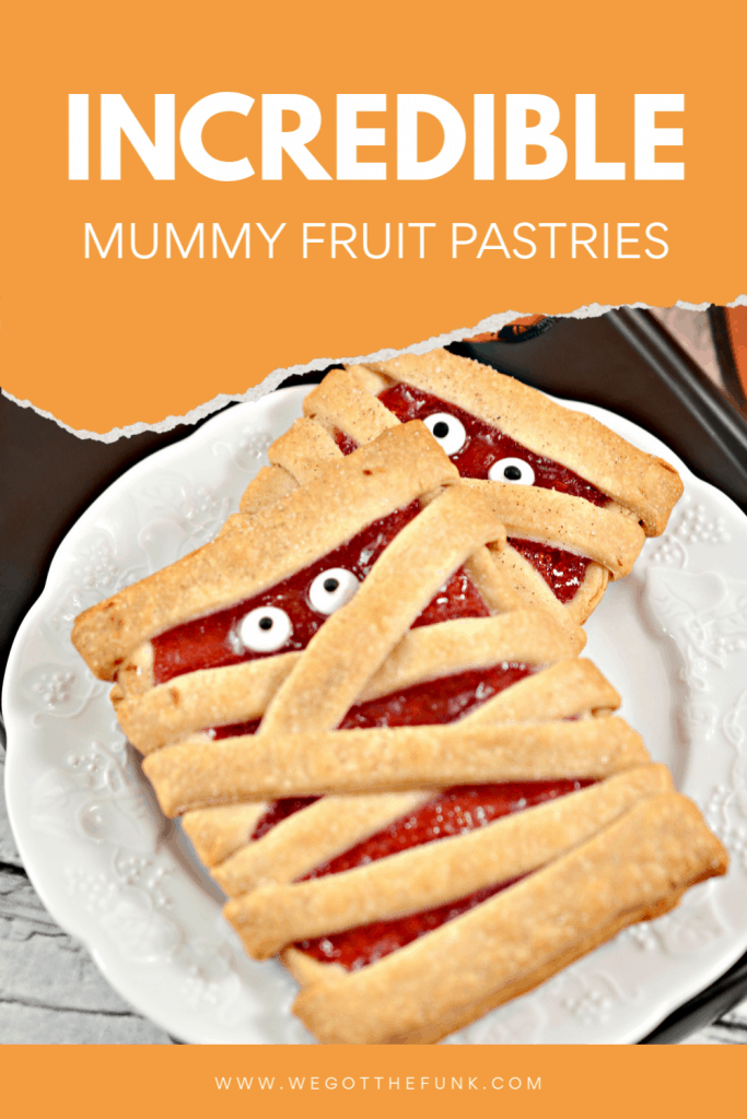 Incredible Mummy Fruit pastries