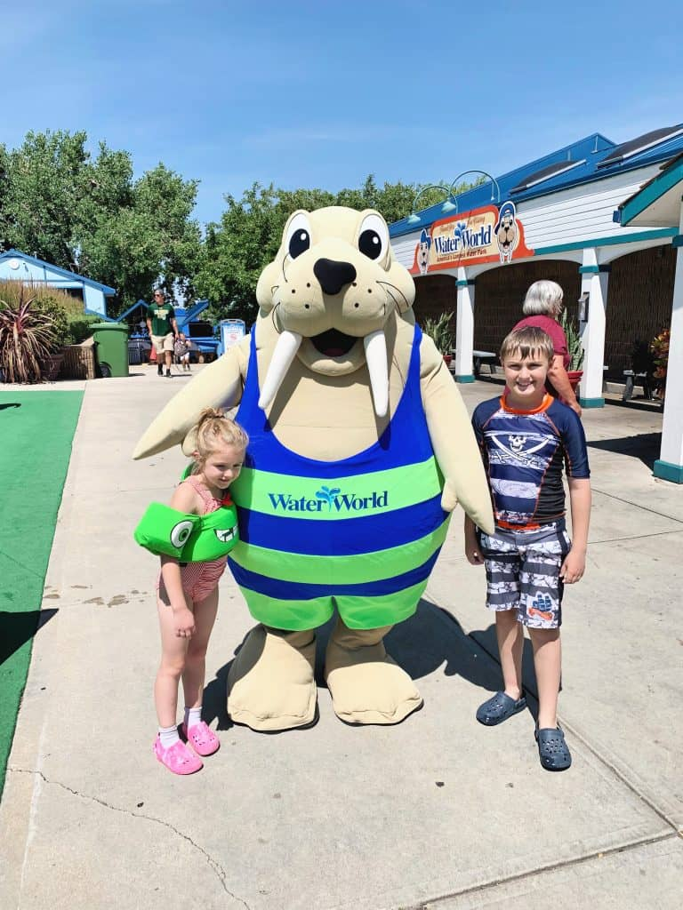 Wally and Kids at Water World