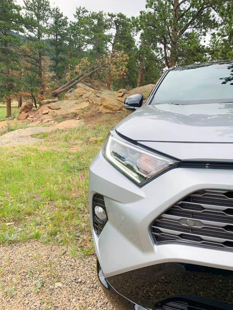 Front view of 2019 Toyota Rav4 Hybrid