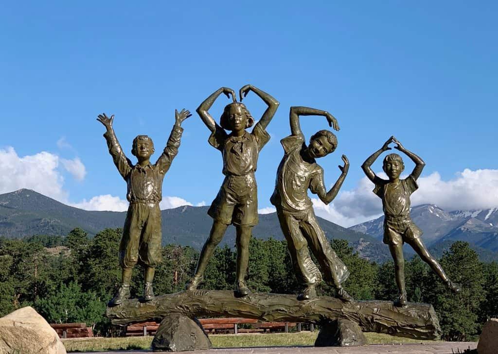 YMCA Bronze Statue