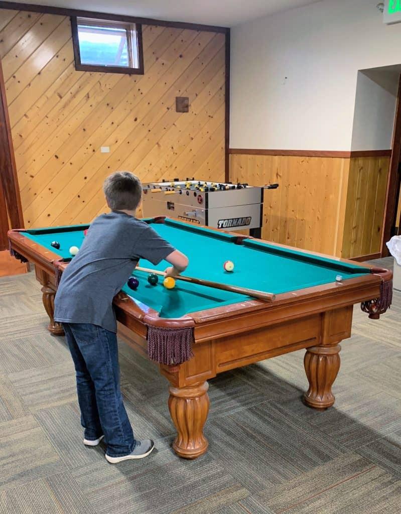 YMCA Game Room