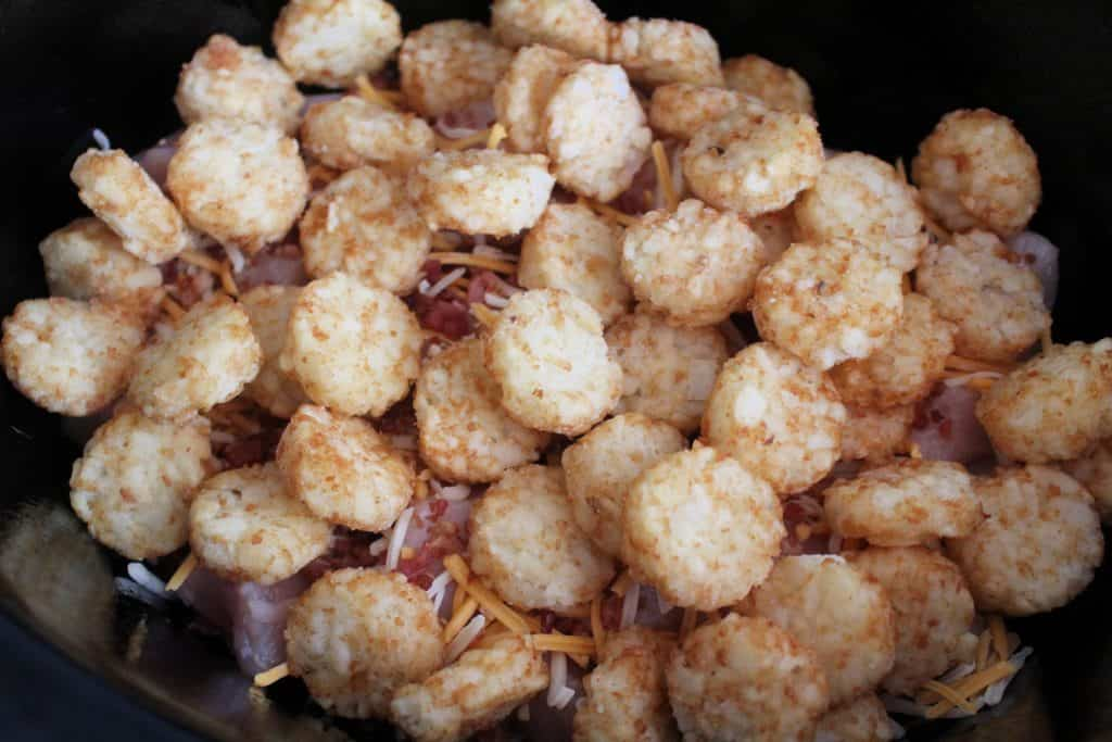 Tater tots in slow cooker