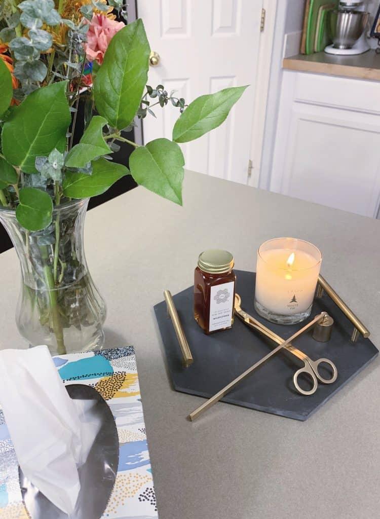 Modern Candle Decor