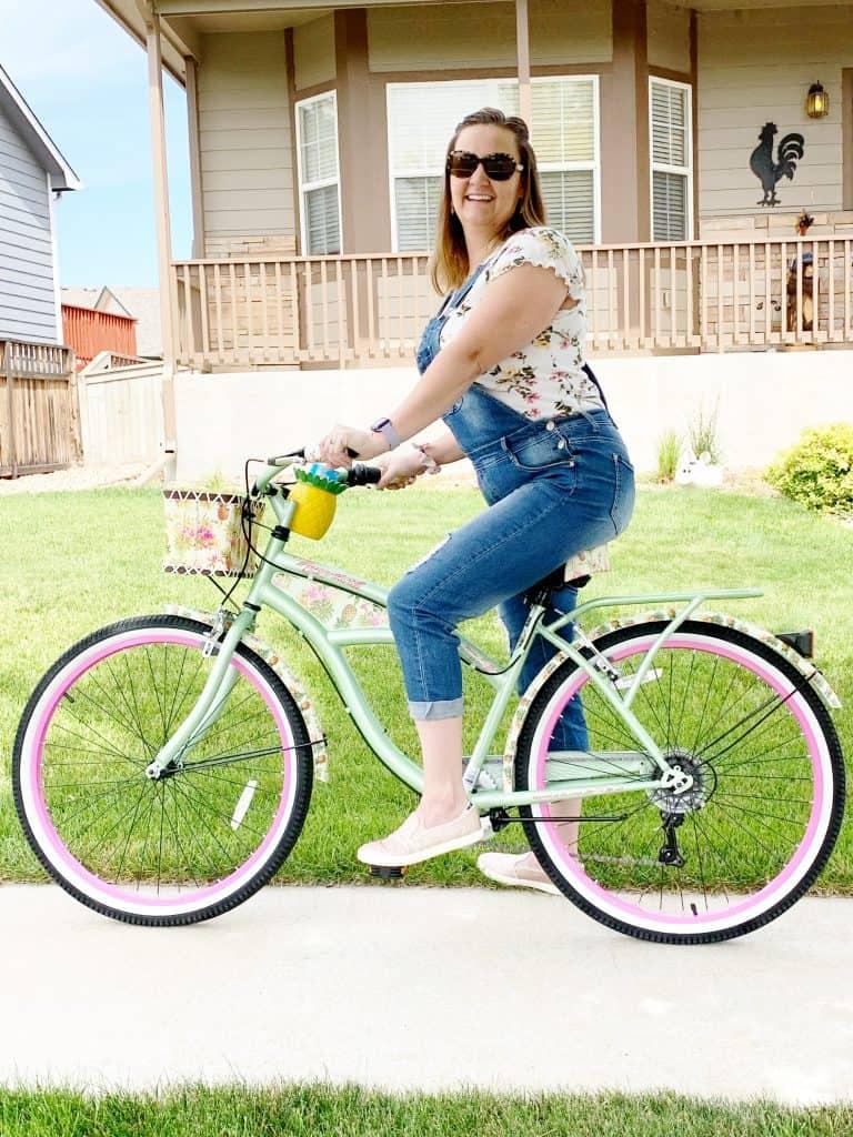Cruiser Bike Mom