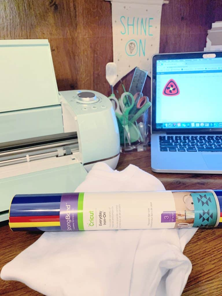 Preparing Cricut Everyday Iron-On transfer