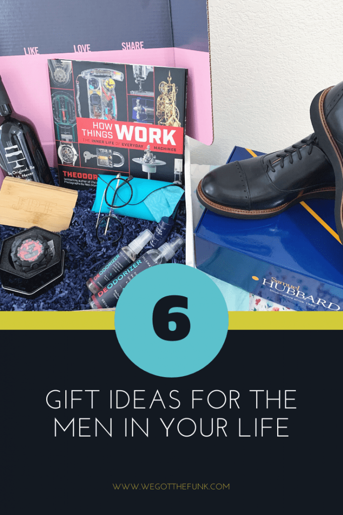 6 Gift Ideas for the Men in your Life