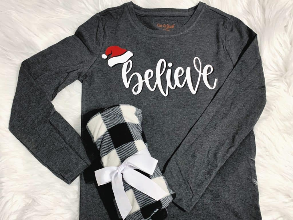 Believe holiday jammies