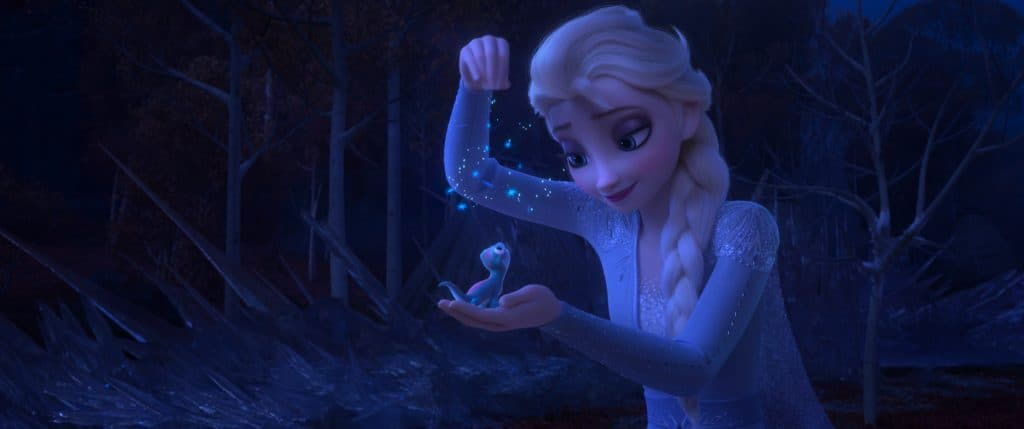 Elsa and Fire Salamander