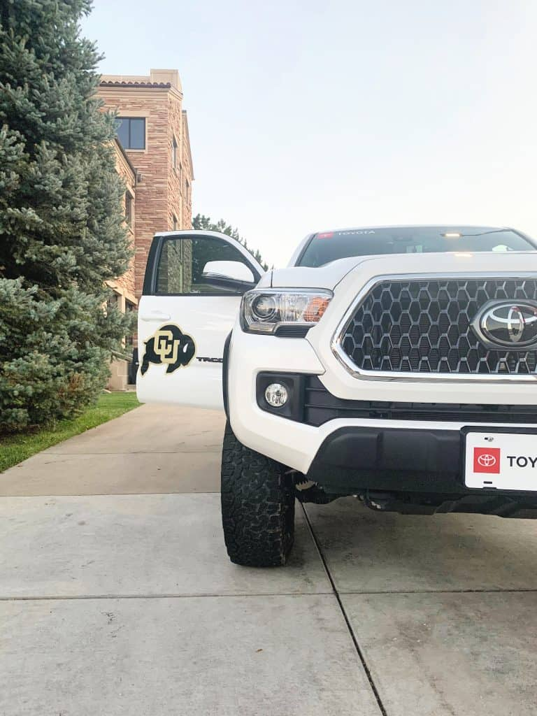 University of Colorado Toyota Tacoma