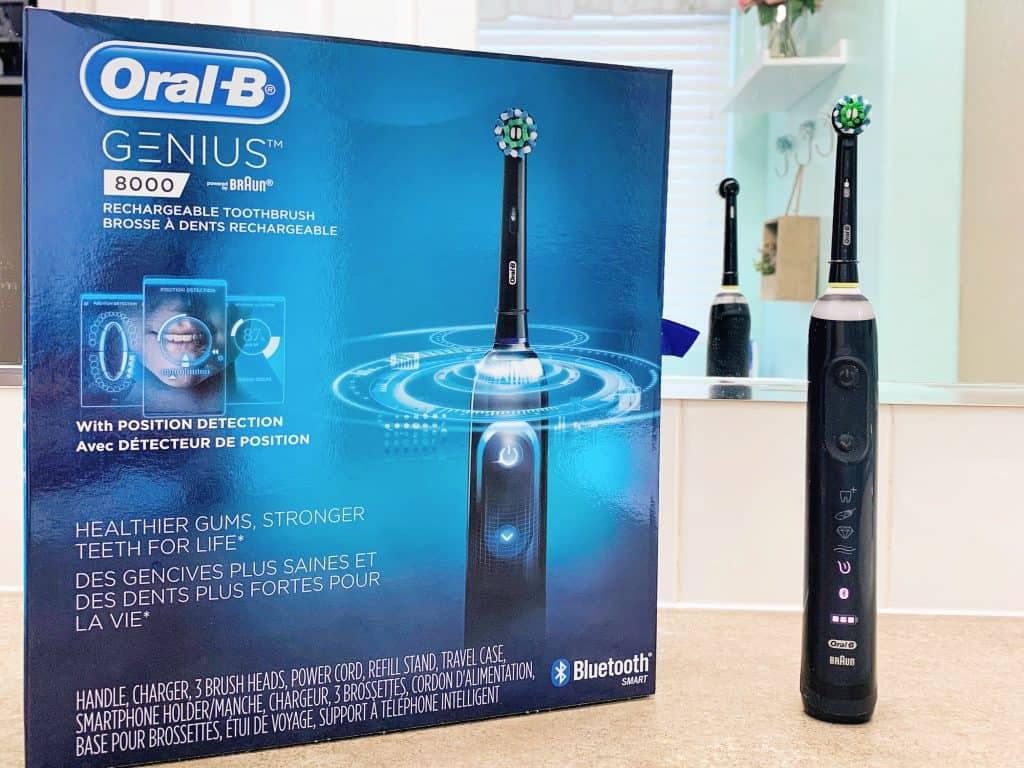 Oral-B Genius pro 8000 black model