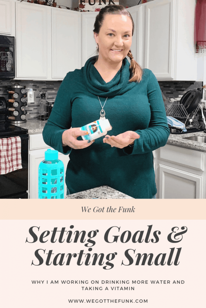 Setting Goals and Starting Small