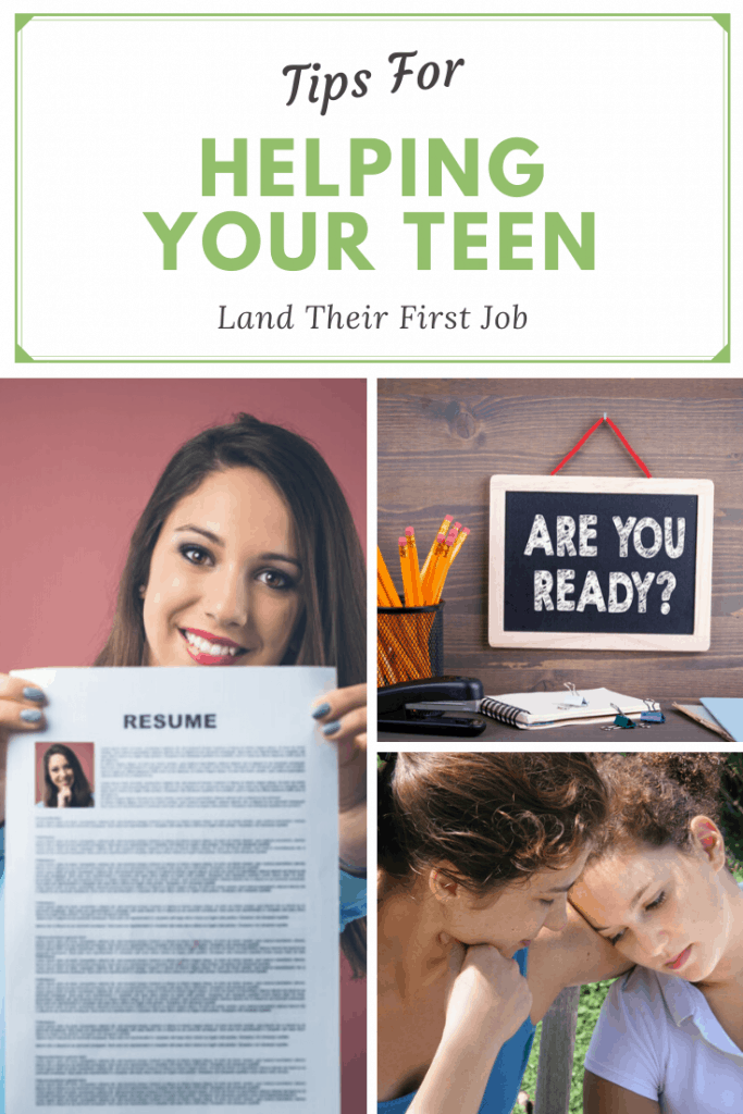 Tips for helping your teen land their first job