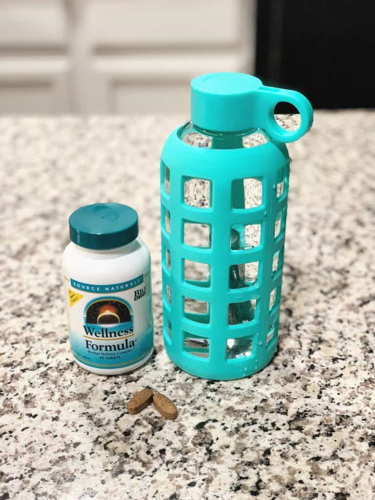 Source Naturals Wellness Formula and Purifyou Water Bottle