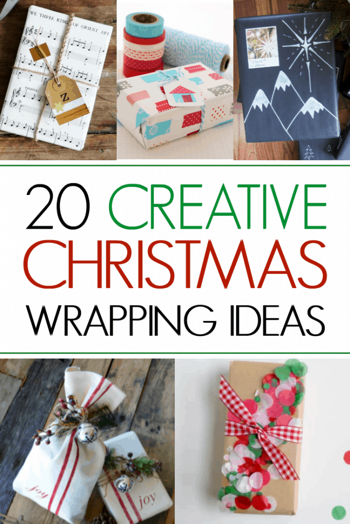 20 Creative Christmas Wrapping Ideas
