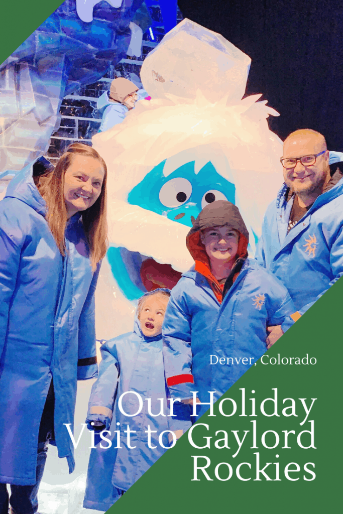 Our holiday visit to Gaylord Rockies