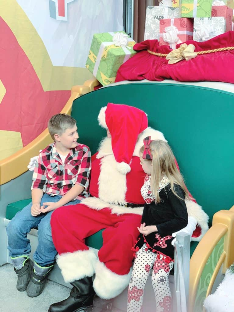 Personal Interactions with Santa
