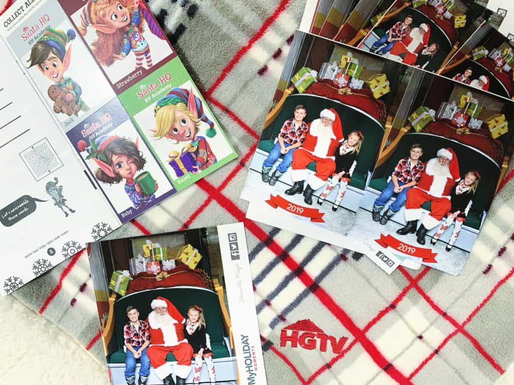 Photo package from Santa HQ