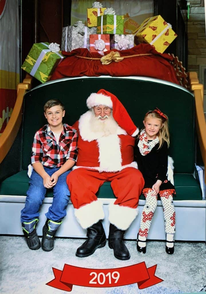 2019 Picture with Santa