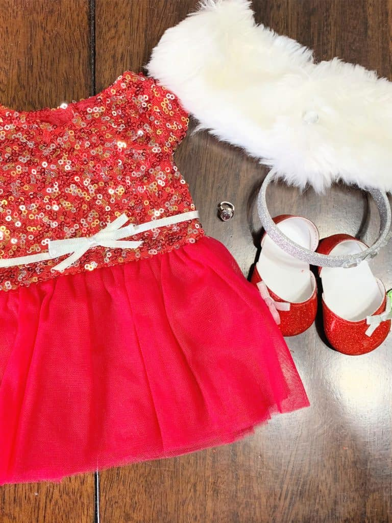 Decked Out American Girl Doll Dress