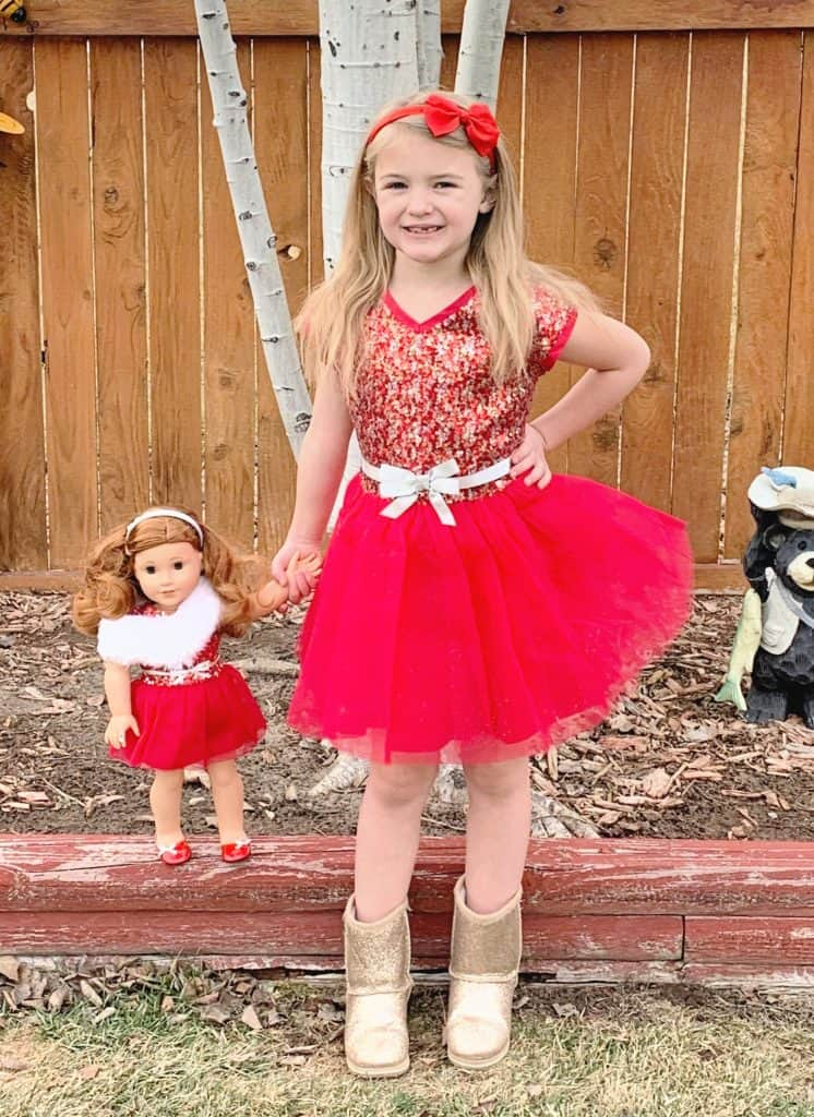 American Girl matching outfits