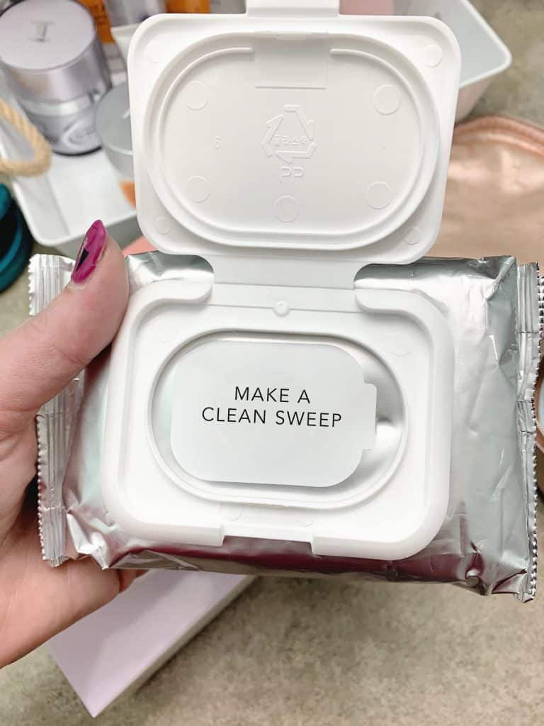 Image Skincare Facial Wipes clean Sweep