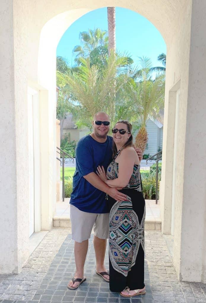 Couple at Beaches Turks & Caicos