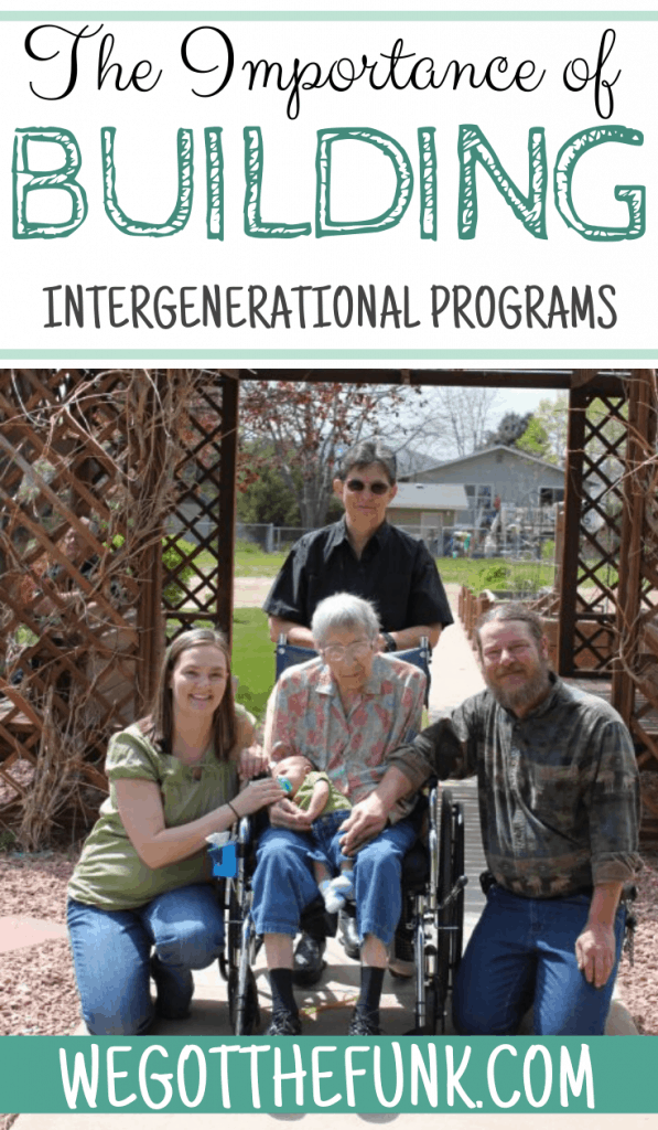 The Importance of Building Intergenerational Programs
