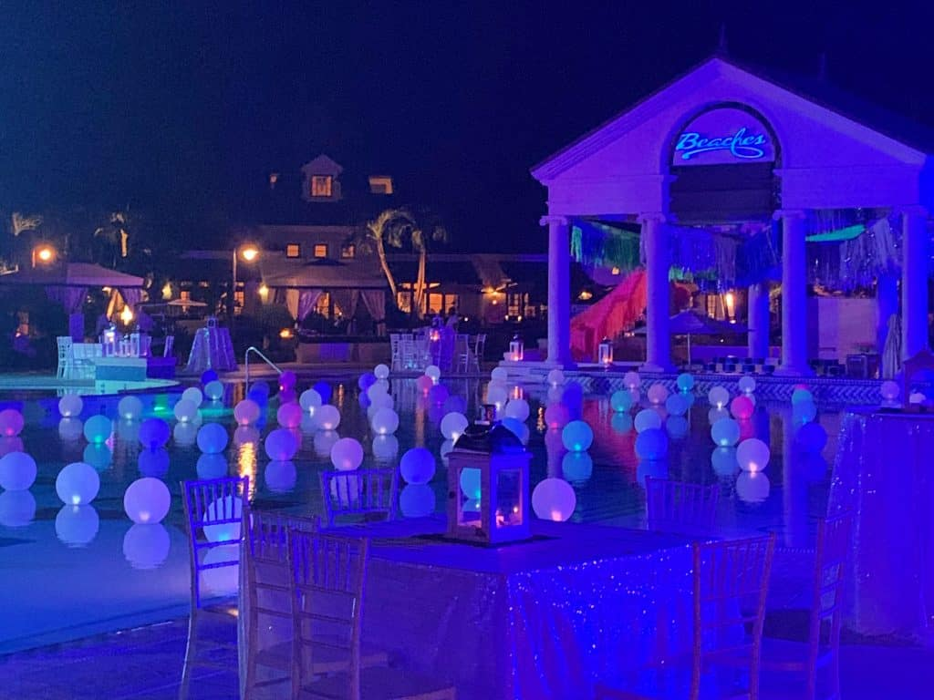 Willy Wonka Party at Beaches Turks & Caicos