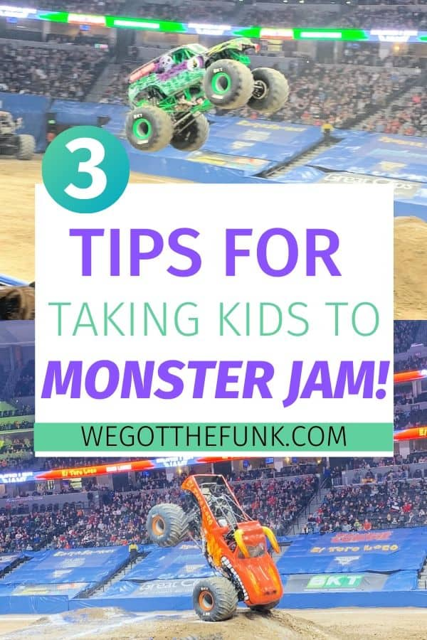 3 Tips for Taking Kids to Monster Jam