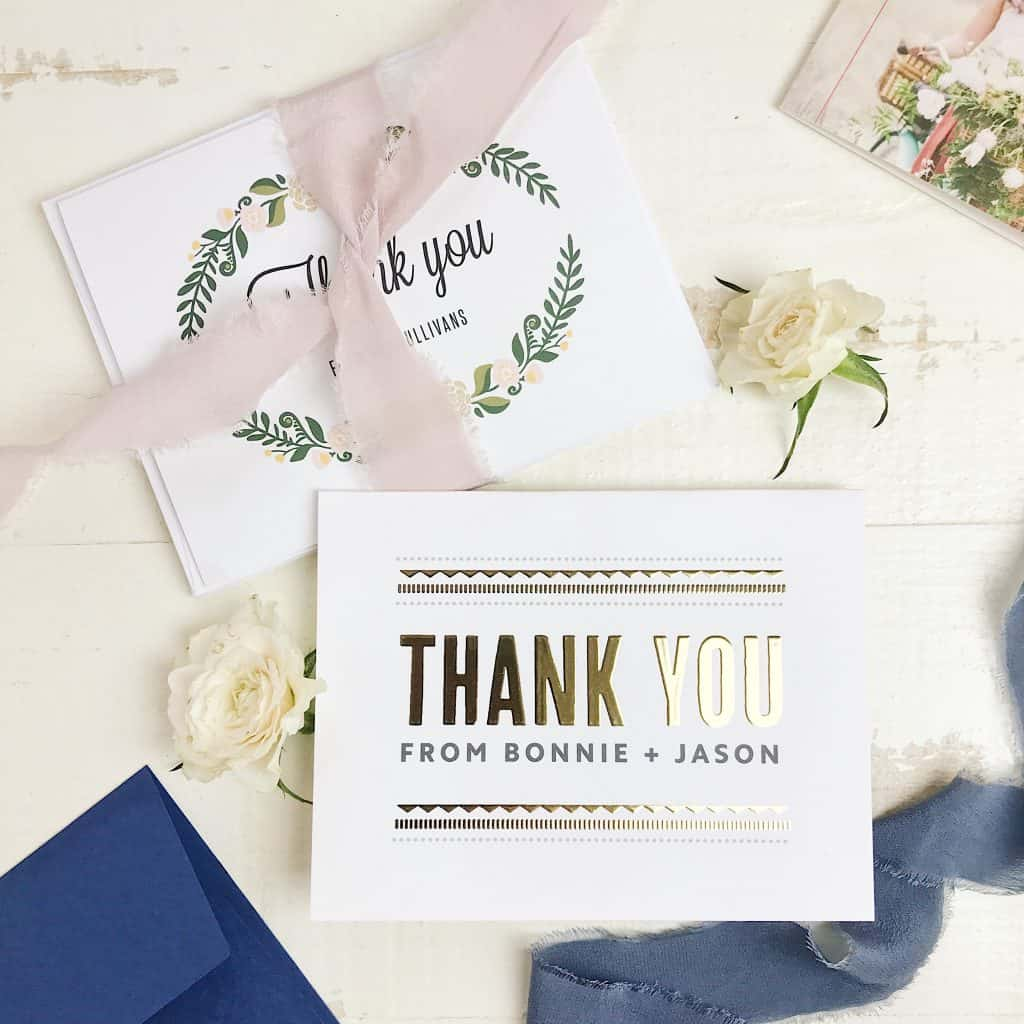 Customized Thank You Notes