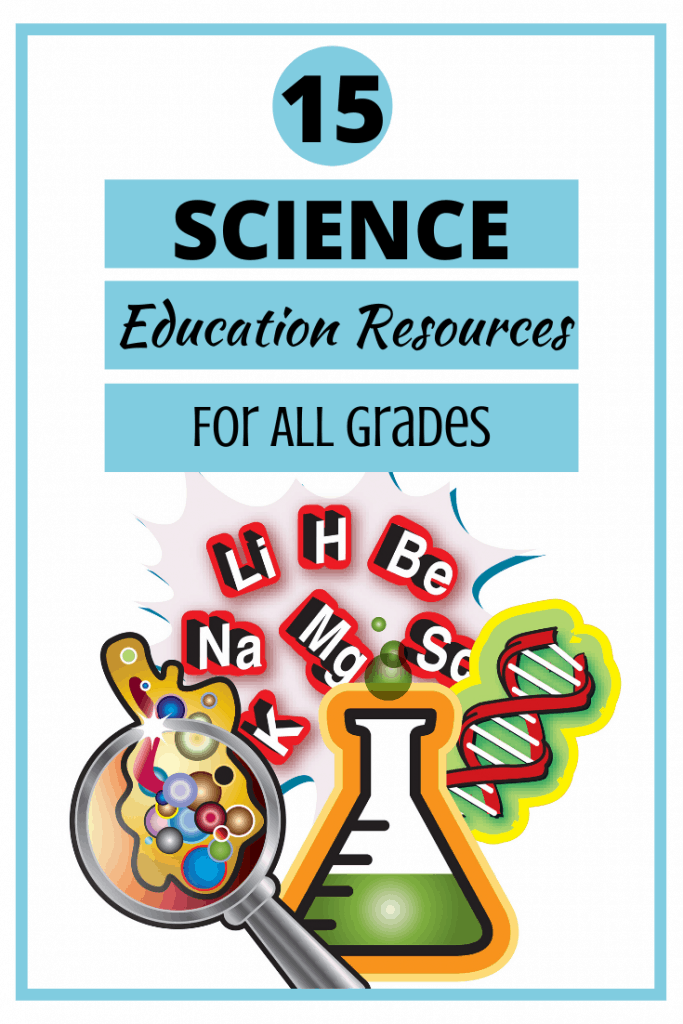 15 Science Education Resources