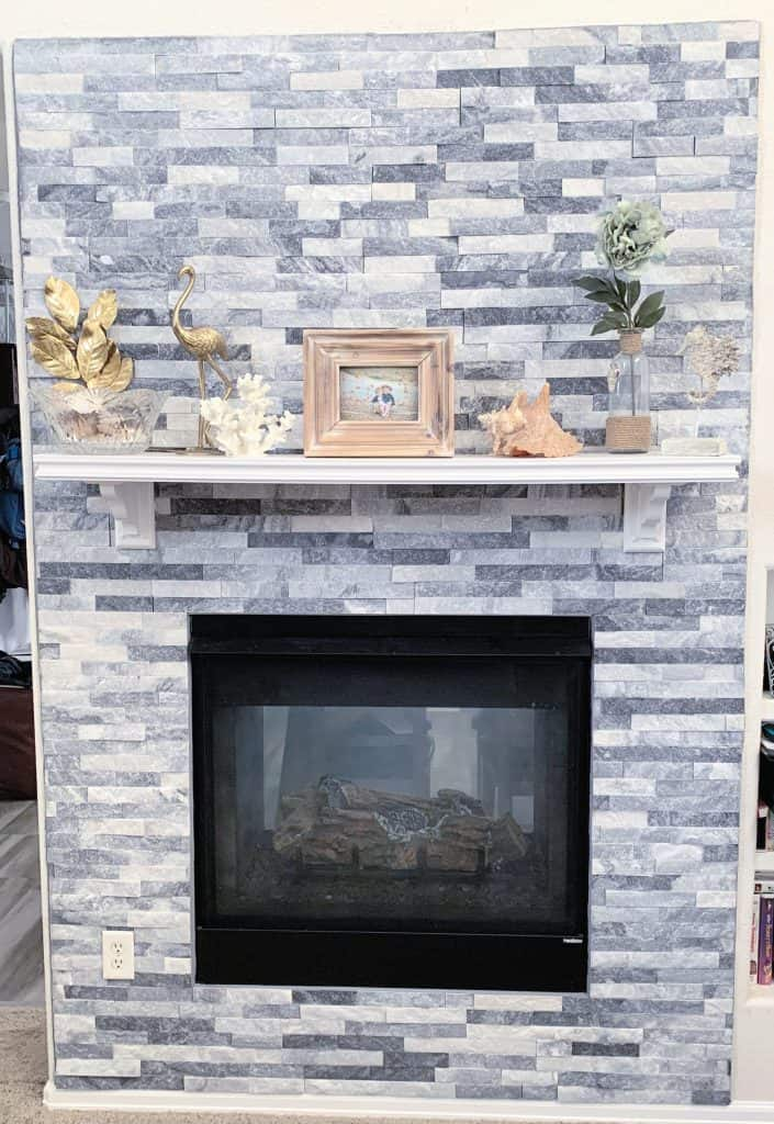Quartz fireplace