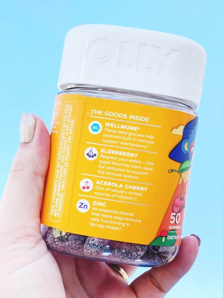Olly Vitamin ingredients