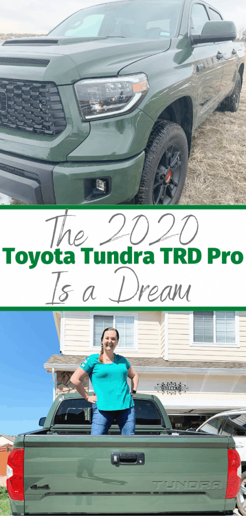 The 2020 Toyota Tundra TRD Pro is a Dream