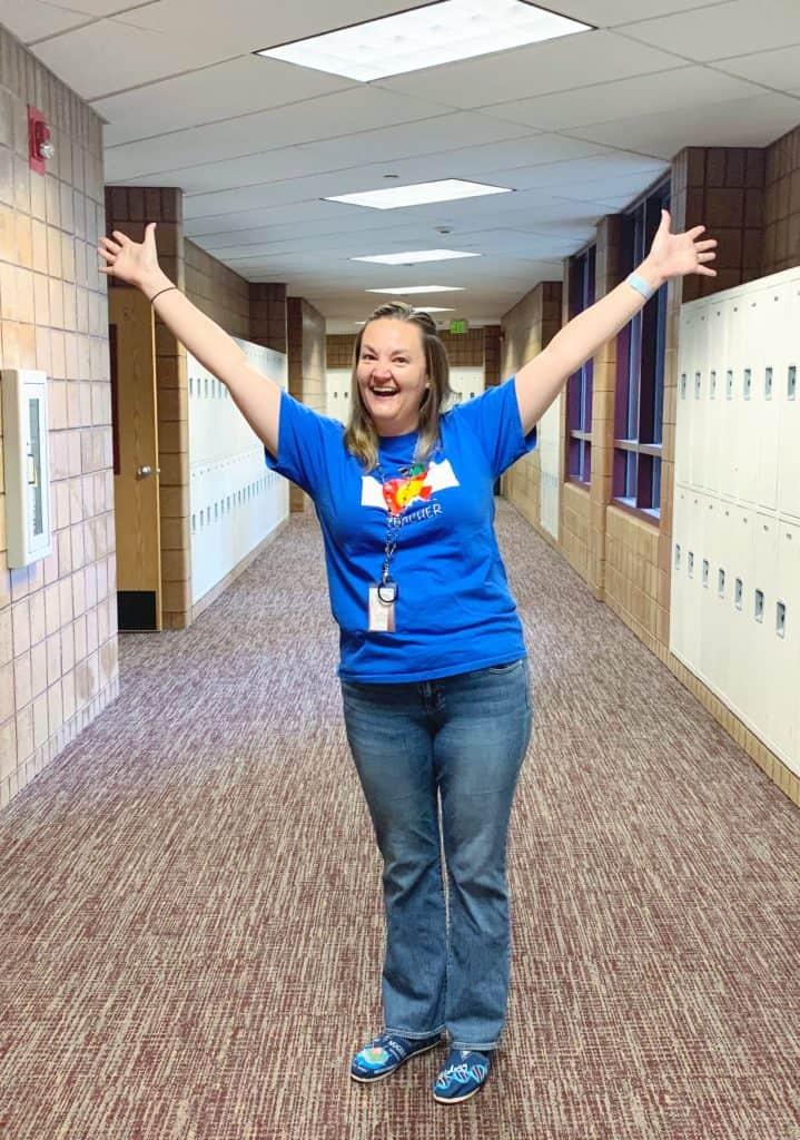 Happy Colorado Teacher