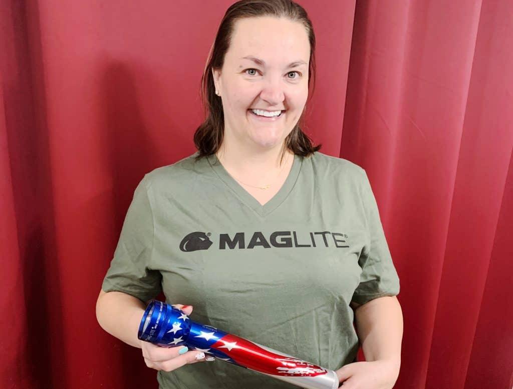 Flag Maglite