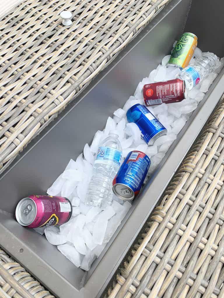 Brunswick Cooler table