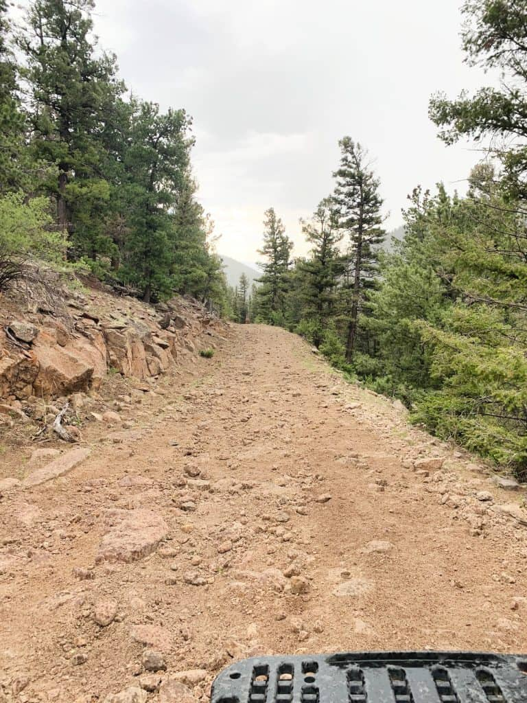 Trail in South Fork CO